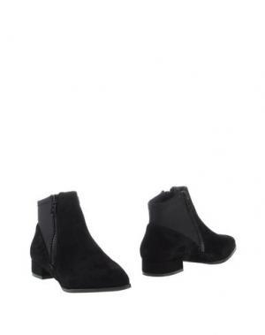 Полусапоги и высокие ботинки PRETTY NANÃ. Цвет: черный