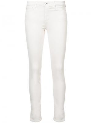 Skinny jeans Ag. Цвет: белый
