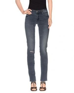 Джинсовые брюки NEUW. Цвет: серый