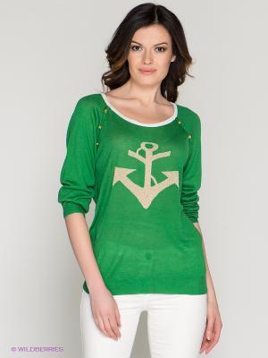 Джемпер O De Mai. Цвет: зеленый