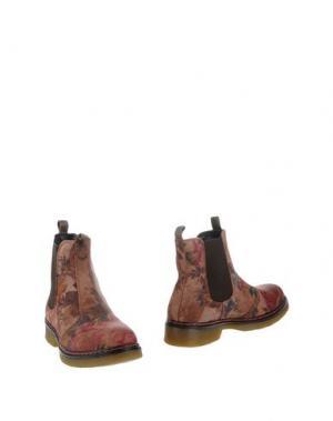 Полусапоги и высокие ботинки BULL BOXER. Цвет: хаки