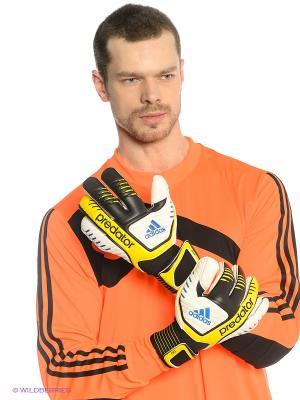 Перчатки вратарские PREDATOR PRO adidas. Цвет: черный, желтый