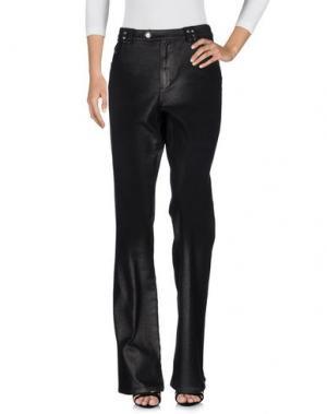 Джинсовые брюки ANGELO MARANI. Цвет: черный