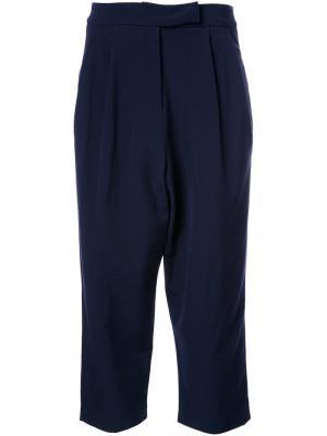 Укороченные брюки Studio Nicholson. Цвет: синий