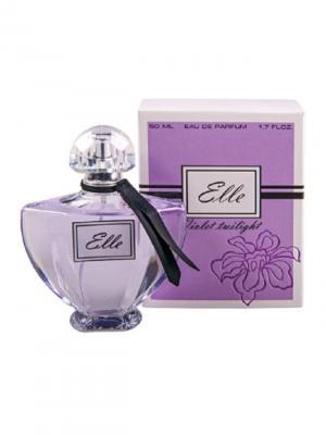 Парфюмерная вода Elle Violet twilight 50мл ПонтиПарфюм. Цвет: фиолетовый