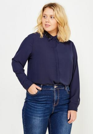 Блуза LOST INK PLUS. Цвет: синий