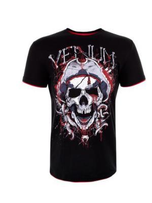 Футболка Venum Pirate 3.0 Black/Red. Цвет: черный, красный