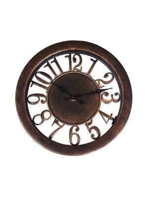 Часы настенные PATRICIA. Цвет: бронзовый