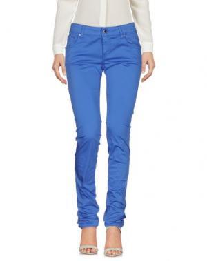 Повседневные брюки DIRK BIKKEMBERGS. Цвет: синий