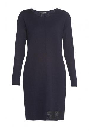 Платье из шерсти 9520 Baroni. Цвет: синий