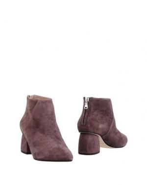 Полусапоги и высокие ботинки GIANNA MELIANI. Цвет: розовато-лиловый