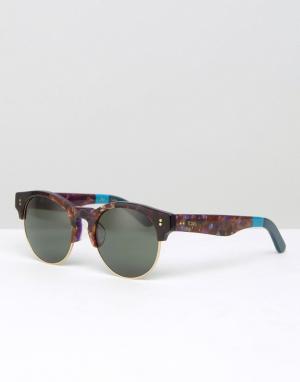 Toms Солнцезащитные очки в стиле ретро Charlie. Цвет: коричневый