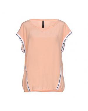 Блузка MARC CAIN. Цвет: лососево-розовый