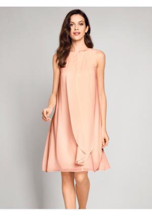 Коктейльное платье Ashley Brooke. Цвет: розовый