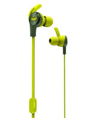 Наушники с микрофоном Monster iSport Achieve (Green). Цвет: зеленый