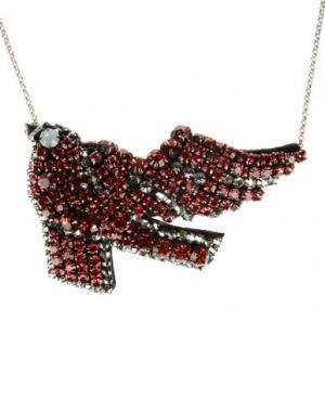 Ожерелье SHOUROUK. Цвет: коралловый
