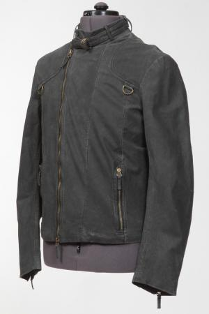 Куртка на молнии Massimo Rebecchi. Цвет: черный