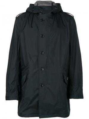 Пальто с капюшоном Junya Watanabe Comme Des Garçons Man. Цвет: чёрный