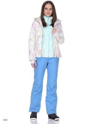 Куртка сноубордическая Volkl. Цвет: белый
