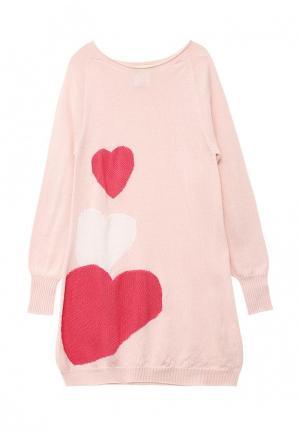 Платье R&I. Цвет: розовый