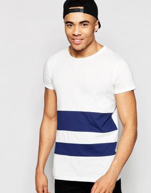 Brooklyn Supply Co. Полосатая футболка Co. Цвет: белый