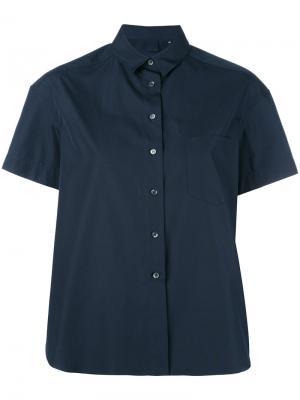 Short sleeve shirt Aspesi. Цвет: синий