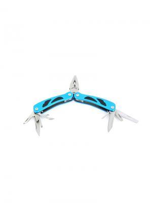 Мультитул 9 инструментов Stinger. Цвет: черный, синий, серебристый