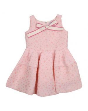Платье MIMISOL. Цвет: светло-розовый