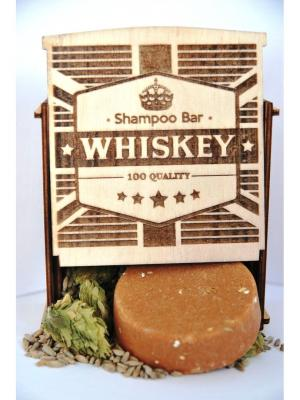 Whyskey (gift pack) SHAMPOO BAR. Цвет: светло-коричневый