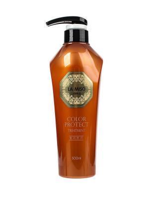 Кондиционер для сохранения цвета волос, 500 мл La miso. Цвет: белый