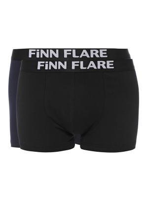 Трусы Finn Flare. Цвет: синий, черный