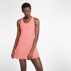 Теннисное платье Court Pure Nike. Цвет: розовый
