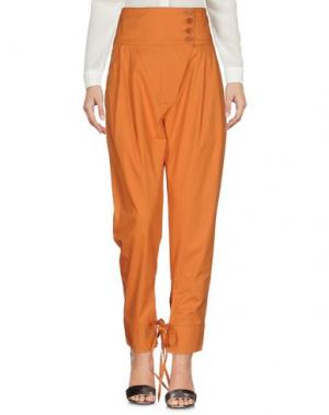 Повседневные брюки VIRNA DRÒ®. Цвет: оранжевый