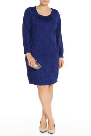 Платье Terra. Цвет: синий