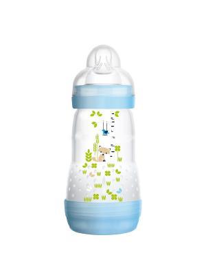 Бутылочка для кормления MAM Anti-Colic 260 мл. Цвет: синий