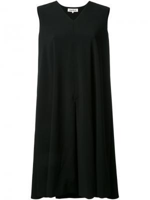 Расклешенное платье без рукавов Enföld. Цвет: чёрный