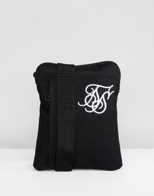 SikSilk Черная сумка для полетов. Цвет: черный