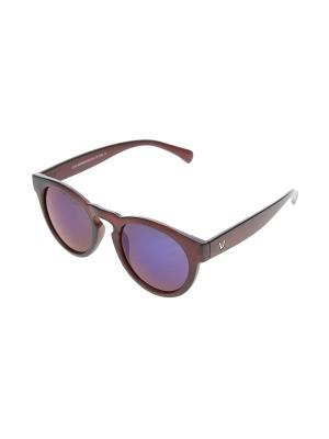 Очки солнцезащитные Gusachi. Цвет: коричневый, синий