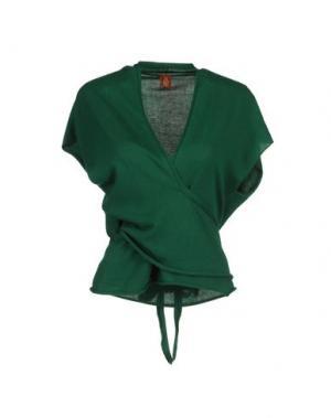 Болеро DONDUP. Цвет: зеленый