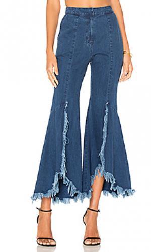 Джинсовые брюки GOEN.J. Цвет: none