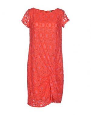Короткое платье SINÉQUANONE. Цвет: красный