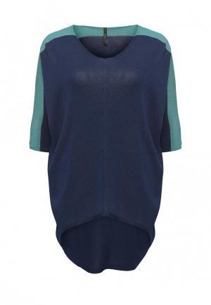 Пуловер Firkant. Цвет: синий