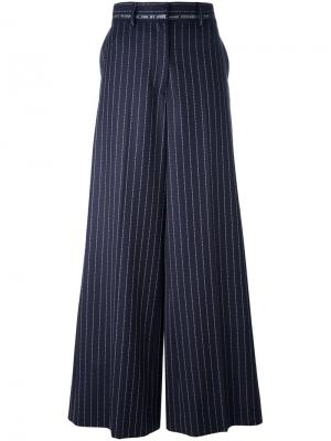 Flared pinstripe trousers Alyx. Цвет: синий