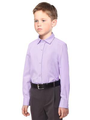 Рубашка VILATTE. Цвет: лиловый