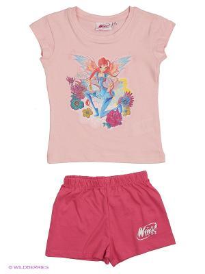Пижама WINX. Цвет: розовый