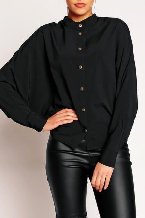Блуза Karen. Цвет: черный