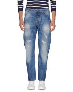 Джинсовые брюки JEY COLE MAN. Цвет: синий