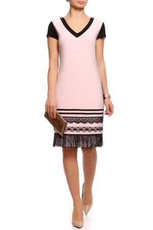 Платье Frank Lyman Design. Цвет: черно-розовый