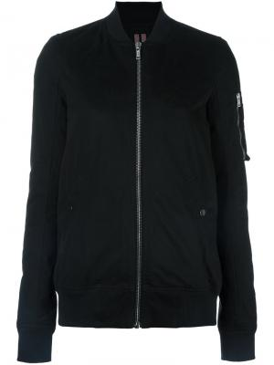 Куртка-бомбер Flight Rick Owens DRKSHDW. Цвет: чёрный