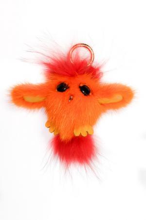 Брелок NICE GIRL. Цвет: оранжевый, красный